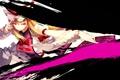 Картинка девушка, движение, веер, арт, touhou, yakumo yukari, missing link