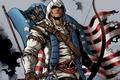 Картинка арт, революция, assassins creed 3, connor