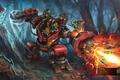 Картинка робот, гномы, heroes of newerth, Dredger Chipper, Dredger
