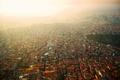 Картинка smog, Istanbul, fog, sunset