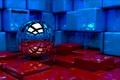Картинка кубы, шар, art