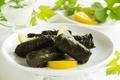Картинка турецкой и греческой кухни, dolma, долма, stuffed grape leaves, turkish and greek cuisine, голубцы в ...