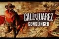 Картинка call of juarez gunslinger, пистолеты, ковбой, плакаты