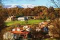 Картинка город, фото, дома, Испания, Gorbea