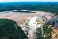 Картинка лес, река, водопад, водопады