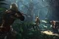 Картинка лес, деревья, пират, солдаты, Assassins Creed, ассассин, Эдвард Кенуэй