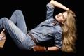 Картинка девушка, модель, джинс, Vanessa Hessler, Ванесса Хэслер