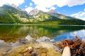 Картинка пейзаж, горы, природа, озеро, Grand, США, Wyoming