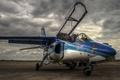 Картинка небо, авиация, самолёт