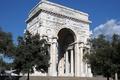 Картинка Италия, Триумфальная арка, Генуя, площадь Победы