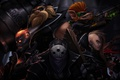 Картинка lol, League of Legends, Vladimir, Brand, Jax, Gragas, the Burning Vengeance