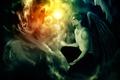 Картинка Ангел, Обитель зла, Resident Evil, Angel, Biohazard, Leon Scott Kennedy, Леон Скотт Кеннеди