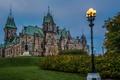 Картинка замок, Канада, памятник, фонарь, дворец