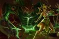 Картинка девушка, монстр, Heroes of Newerth, Jade Empress, Hellbringer
