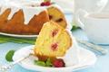 Картинка сладость, выпечка, cakes, sweets, Kugelhopf raspberry ice, Kugelhopf с малиной и обледенения