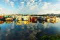 Картинка плавучие дома, Виктория, Британская Колумбия, Канада, пристань Рыбака