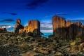 Картинка море, природа, скалы, Granite Quarry