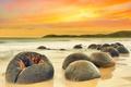 Картинка природа, камни, берег, море, холмы
