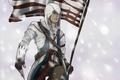 Картинка флаг, американский, assassins creed 3, connor