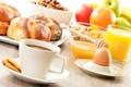 Картинка яйцо, кофе, завтрак, сок, juice, rolls, eggs