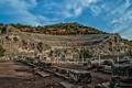 Картинка развалины, Турция, Эфес, амфитеатр, руины