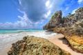 Картинка море, тропики, скалы, побережье, tropics, the cliffs, the sea coast