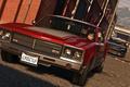Картинка дорога, машина, Майкл, Grand Theft Auto V