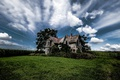 Картинка Sky, Abandoned Farmhouse, Dilapidated Drama, Talbot Trail