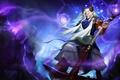 Картинка магия, рога, маг, посох, hon, Heroes of Newerth, pan