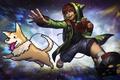 Картинка мальчик, пес, геймпад, Heroes of Newerth, 8-Bit, Puppet Master, Game Master
