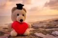 Картинка любовь, мишка, love, toy, bear, heart, romantic