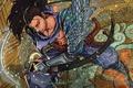 Картинка меч, доспехи, League of Legends, Yasuo