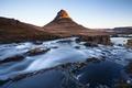 Картинка Iceland, Kirkjufell, long exposure