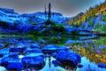 Картинка пейзаж, природа, камни, фото, HDR, Вашингтон, США