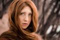 Картинка Екатерина, веснушки, Катя, рыжеволосая, глазастая, Sergey Belikov