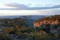 Картинка Шапада-Диамантина, Бразилия, сумерки, Баия, небо, горизонт, облака