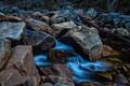 Картинка ручей, камни, поток