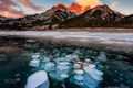 Картинка зима, горы, природа, лёд