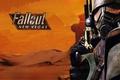 Картинка пистолет, Fallout New Vegas, рейнджер, пустыня.