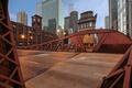 Картинка мост, город, небоскребы, Чикаго, США, Иллинойс, Chicago