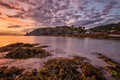 Картинка rock, sea, ocean, coast, sunrise