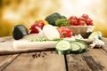 Картинка лук, перец, овощи, помидоры, капуста, огурцы, гребы