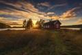 Картинка свет, дом, утро