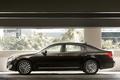 Картинка черный, автомобиль, Hyundai, вид сбоку, Equus