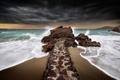 Картинка море, небо, берег