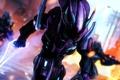 Картинка рендеринг, фантастика, воин, пришельцы, halo, Covenant