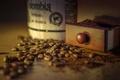 Картинка макро, зёрна, кофе