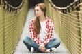 Картинка взгляд, девушка, мост