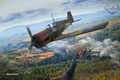 Картинка истребитель, World of Warplanes, WoWp, Wargaming, Vickers Venom