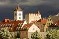Картинка город, фото, дома, Германия, Бавария, Regensburg